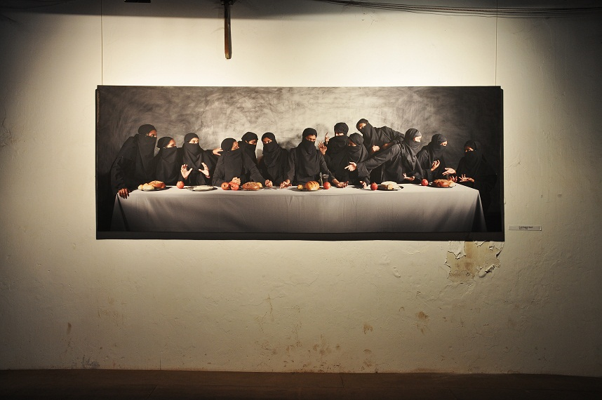 Vivek Vilasini. Last supper...Gaza