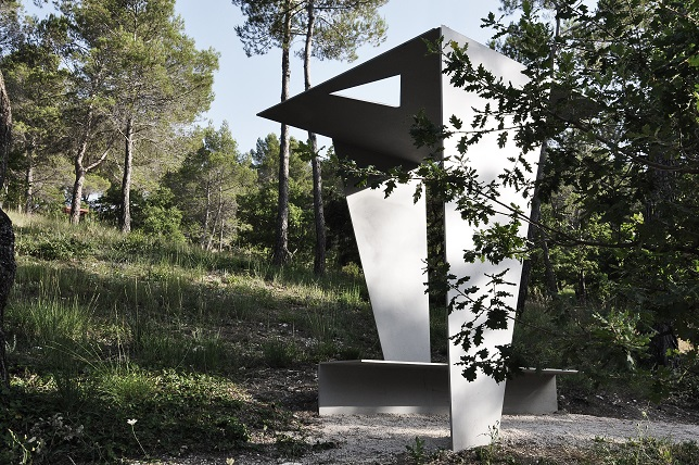 Tadao Ando. Origami Bench